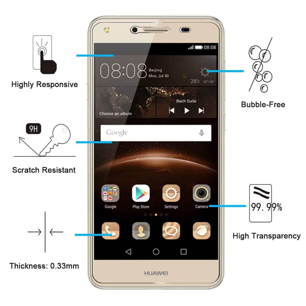 Comment réparer le Huawei Y5 Lite Facebook détient un cas de coupe