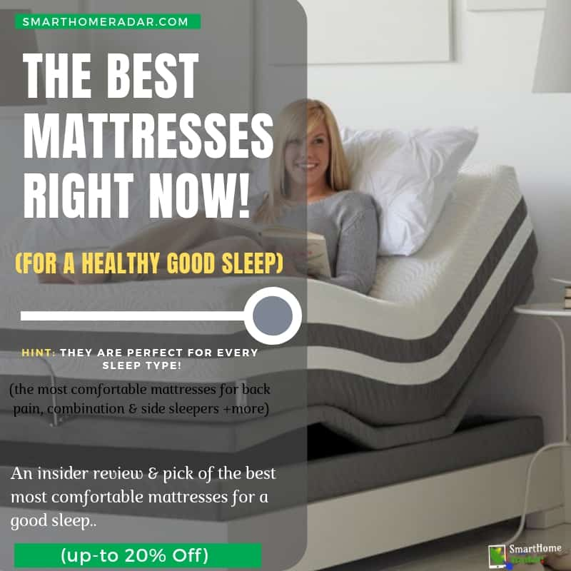 les meilleurs matelas pour les maux de dos et les dormeurs latéraux